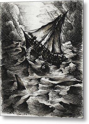 Jonah Metal Print by Rachel Christine Nowicki