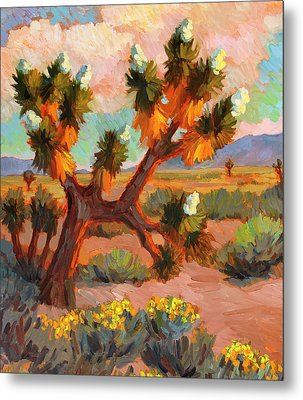 Joshua Tree Metal Print by Diane McClary