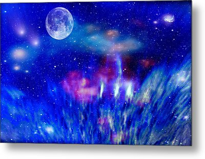 Journey Into The Universe Metal Print