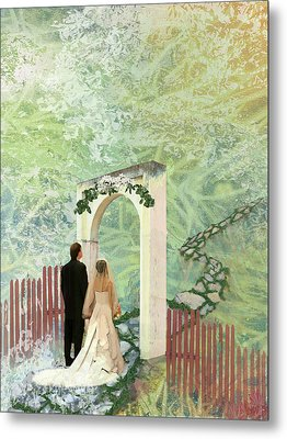 Journey Of Marriage Metal Print
