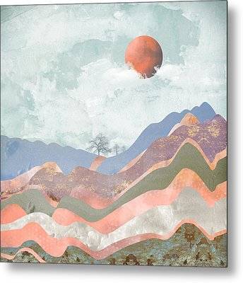 Journey To The Clouds Metal Print by Katherine Smit