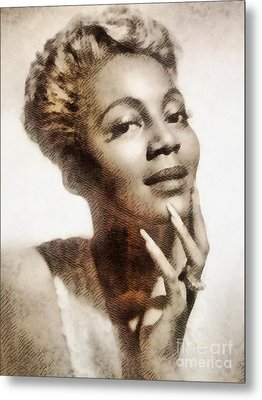 Joyce Bryant, Vintage Singer And Actress Metal Print