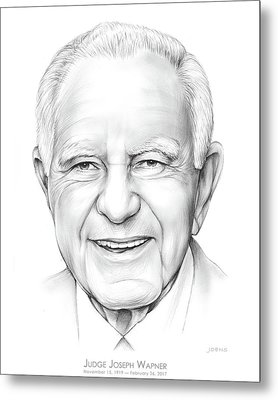 Judge Wapner Metal Print by Greg Joens