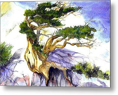 Juniper Blow Metal Print
