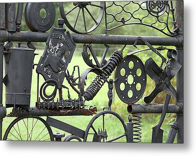 Junk Art Metal Print by Marilyn West