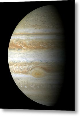 Jupiter Mosiac Metal Print by Stocktrek Images