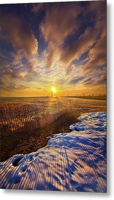 Metal Print featuring the photograph Just A Bit More To Go by Phil Koch