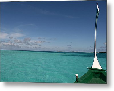 Just Sea And Skies Metal Print by Andrei Fried