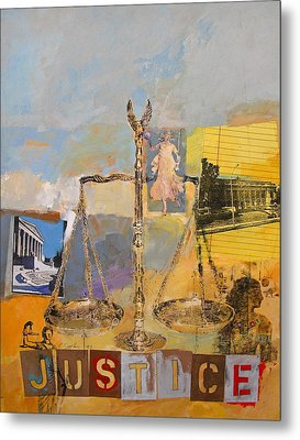 Justice Metal Print by Cliff Spohn