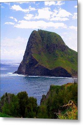 Metal Print featuring the photograph Kahakuloa Point- Island Dreaming by Diane Merkle