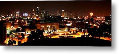 Kansas City Lights Metal Print
