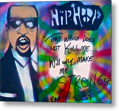 Kanye West Stronger Metal Print by Tony B Conscious