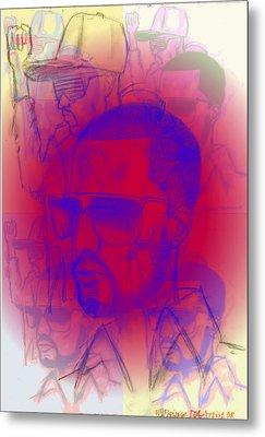 Kanye West Swag  Metal Print by HPrince De Artist