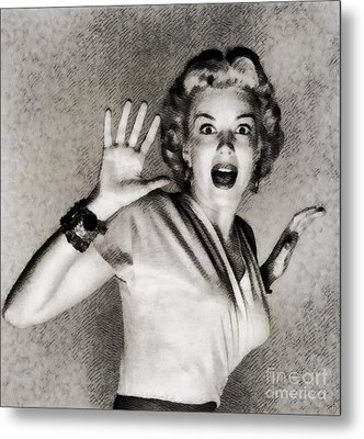 Kathleen Hughes In It Came From Outer Space Metal Print