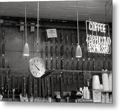 Katz Deli Metal Print by Debbi Granruth