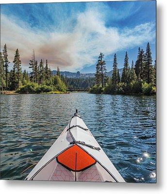 Kayak Views Metal Print