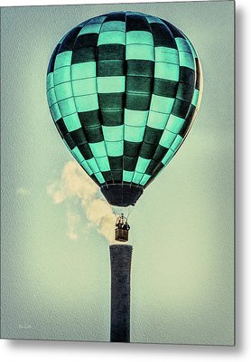Keeping Warm As You Float Metal Print by Bob Orsillo