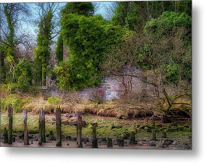 Metal Print featuring the photograph Kennetpans Distillery Ruins by Jeremy Lavender Photography