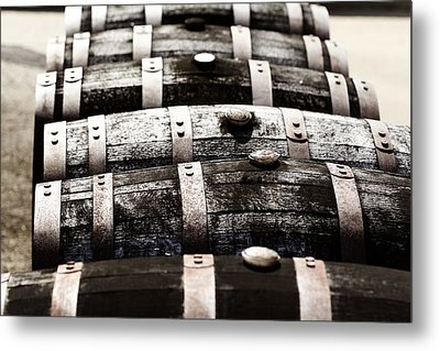 Kentucky Bourbon Barrels Metal Print