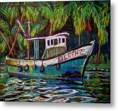 Kerala Fishing Boat  Metal Print