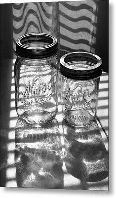 Kerr Jars Metal Print