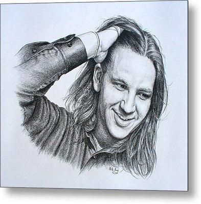 Kevin Daniel Yates Metal Print by Mike Ivey