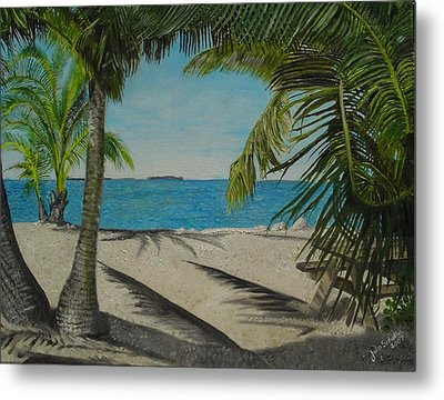Key West Clearing Metal Print by John Schuller