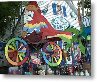 Key West Kites Metal Print