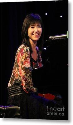 Keyboardist Keiko Matsui Metal Print by Concert Photos