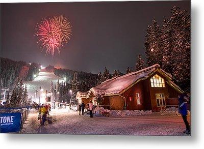 Keystone Resort Fireworks Metal Print
