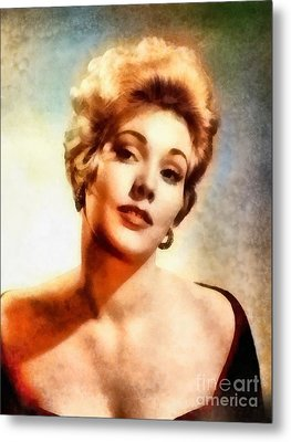 Kim Novak, Vintage Hollywood Actress Metal Print by Frank Falcon