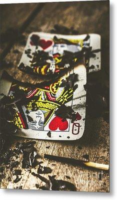 King And Queen Of Broken Hearts Metal Print