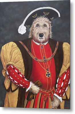 King Gunther The 8th Metal Print