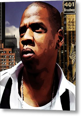 King Of New York Metal Print by The DigArtisT