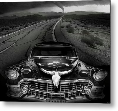 King Of The Highway Metal Print by Larry Butterworth