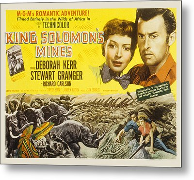 King Solomons Mines, Deborah Kerr Metal Print by Everett