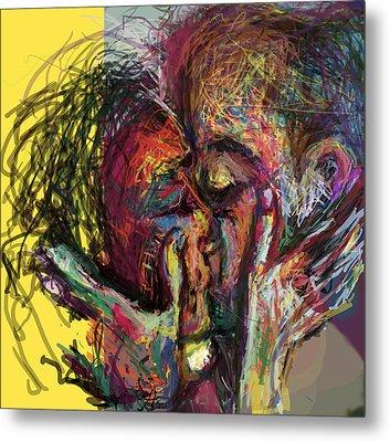 Kiss Me You Big Dick Metal Print by James Thomas