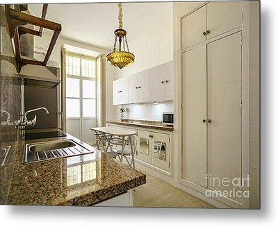 Metal Print featuring the photograph Kitchen Apartment In The Heart Of Cadiz by Pablo Avanzini