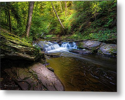 Kitchen Creek Metal Print by Marvin Spates