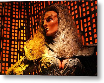 Metal Print featuring the photograph Klingon by Kristin Elmquist