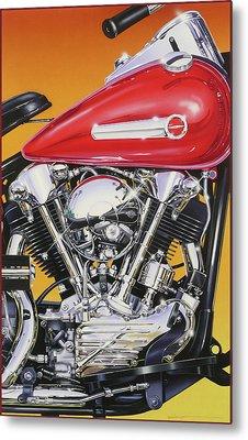 Knuckle Metal Print by Jack Knight