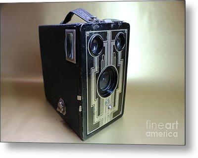 Kodak Brownie Six-16  Metal Print by Erick Schmidt