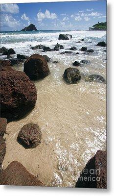 Koki Beach Hana Maui Hawaii 2 Metal Print by Dustin K Ryan