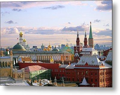 Kremlin, Moscow, Russia Metal Print by Lars Ruecker