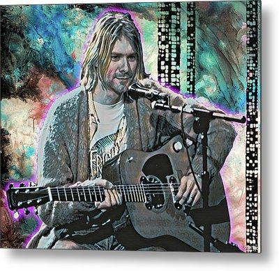 Kurt Cobain - Come As You Are Metal Print