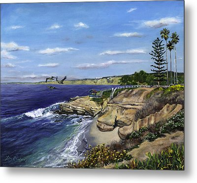 La Jolla Cove West Metal Print