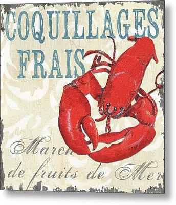 La Mer Shellfish 2 Metal Print by Debbie DeWitt
