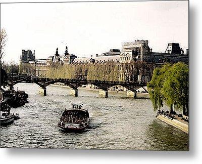 La Seine Metal Print by John Bradburn