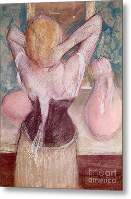 La Toilette Metal Print by Edgar Degas