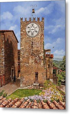 La Torre Del Carmine-montecatini Terme-tuscany Metal Print